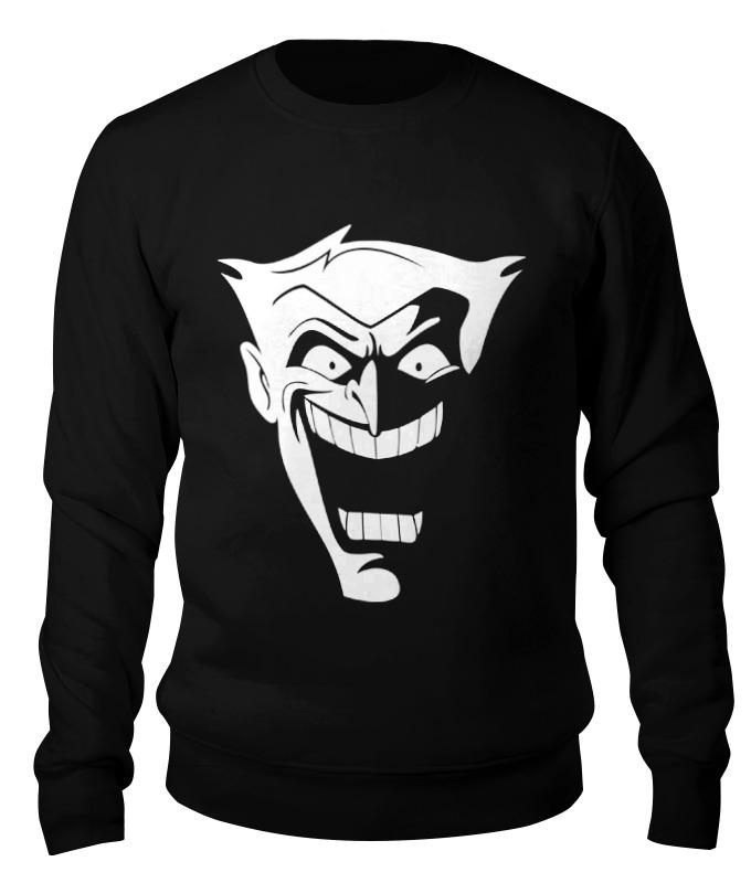Свитшот унисекс хлопковый Printio Джокер свитшот унисекс хлопковый printio clash royale