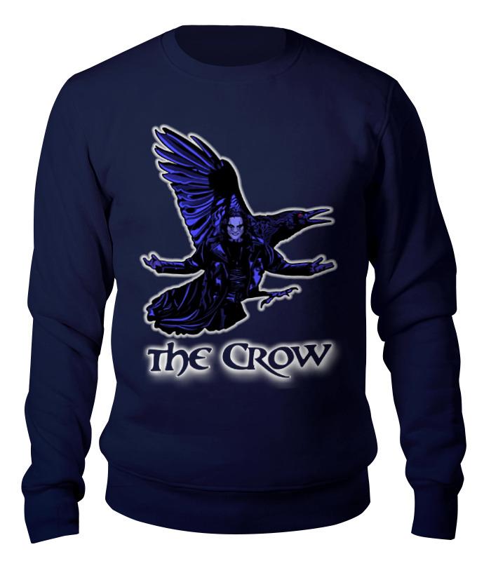 Printio The crow свитшот унисекс хлопковый printio clash royale