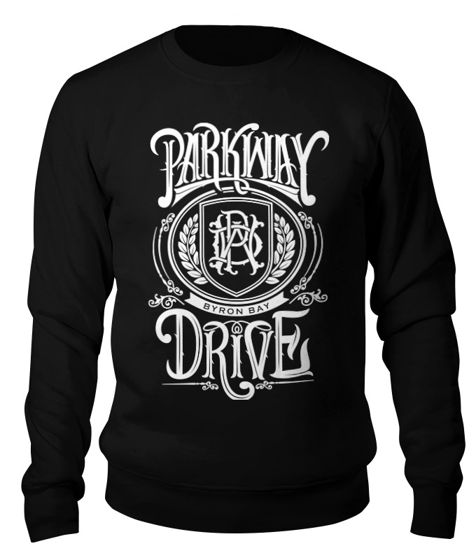 Свитшот унисекс хлопковый Printio Parkway drive parkway drive amsterdam