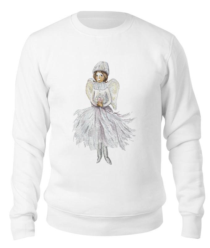 Свитшот унисекс хлопковый Printio Снежный ангел