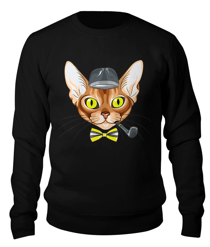 Printio Персидская кошка свитшот унисекс хлопковый printio женщина кошка