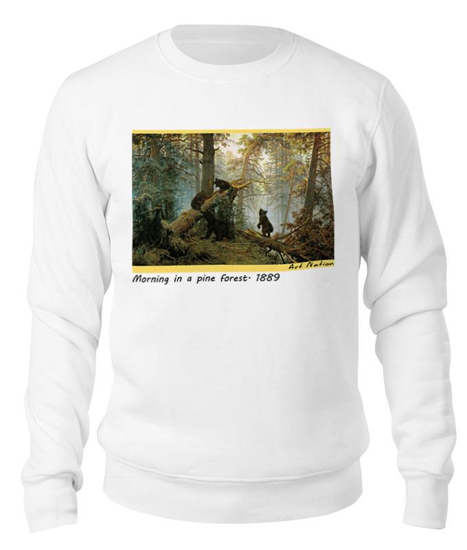 Printio Утро в сосновом лесу футболка с полной запечаткой мужская printio утро в сосновом лесу