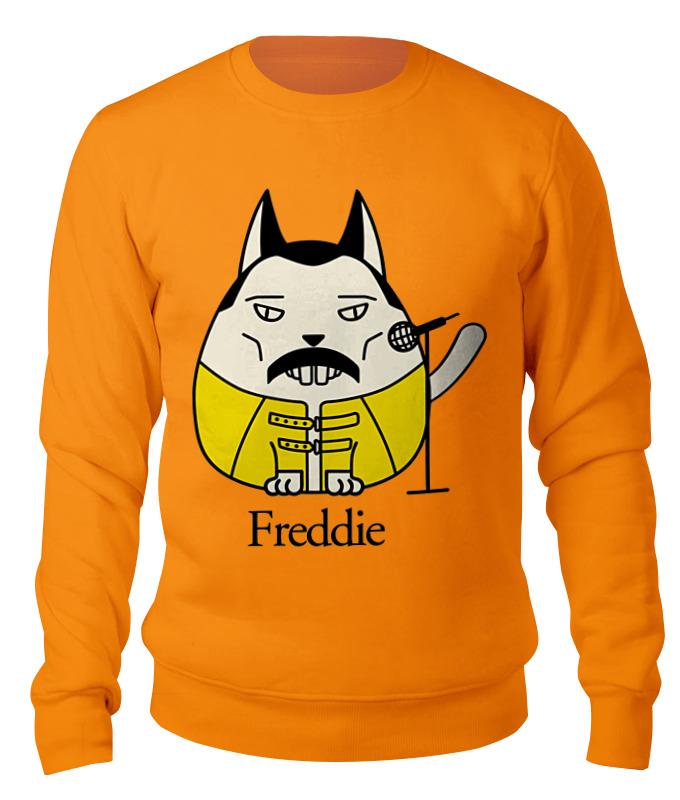 Свитшот унисекс хлопковый Printio Фредди меркьюри-кот свитшот унисекс хлопковый printio кот мореход