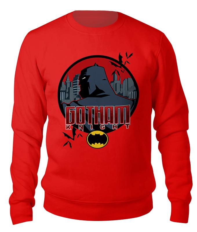 Свитшот унисекс хлопковый Printio Бэтмен (batman) canali красный хлопковый джемпер