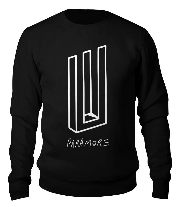 Printio Paramore свитшот унисекс хлопковый printio clash royale