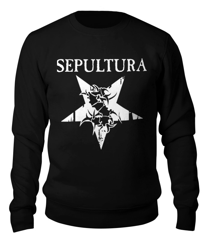 Свитшот унисекс хлопковый Printio Sepultura цены онлайн