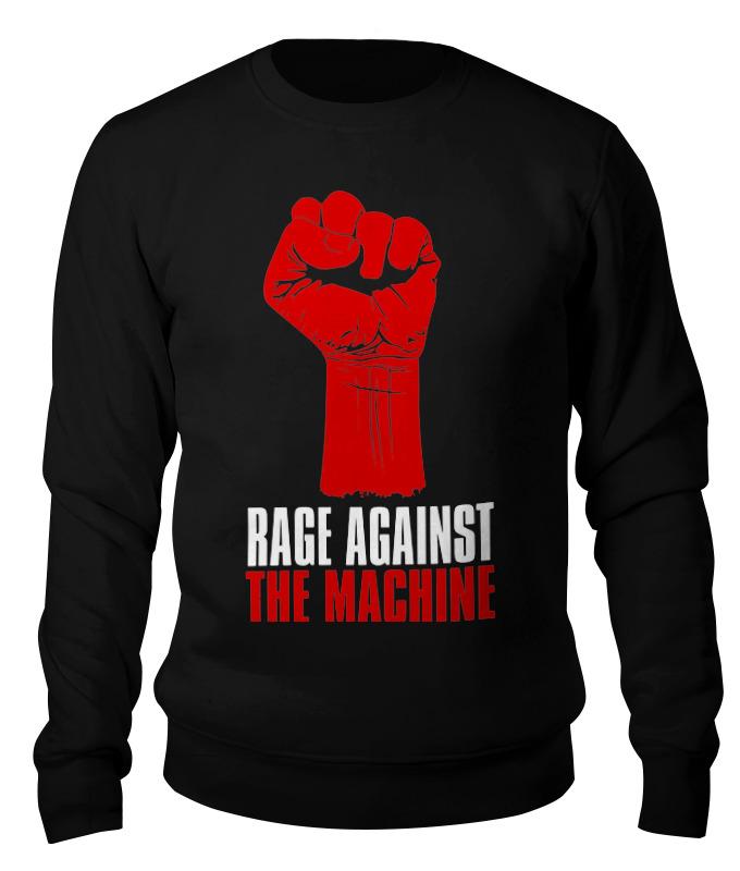 Свитшот унисекс хлопковый Printio Rage against the machine rage rage the devil strikes again 2 lp