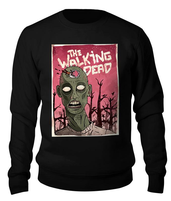 Свитшот унисекс хлопковый Printio Ходячие мертвецы (the walking dead) все цены