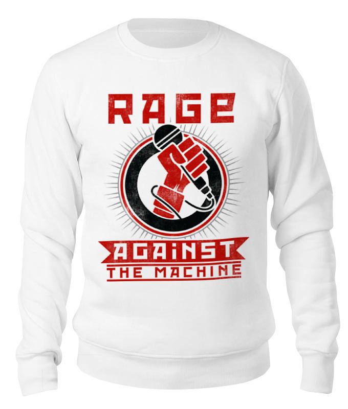 Свитшот унисекс хлопковый Printio Rage against the machine against the grain