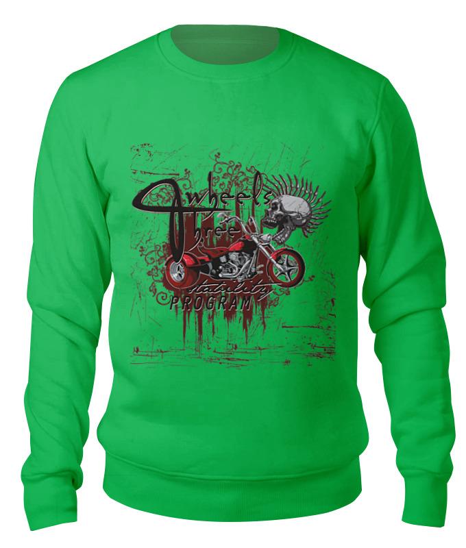 Свитшот унисекс хлопковый Printio Мотоцикл мотоцикл хонду f4в спб