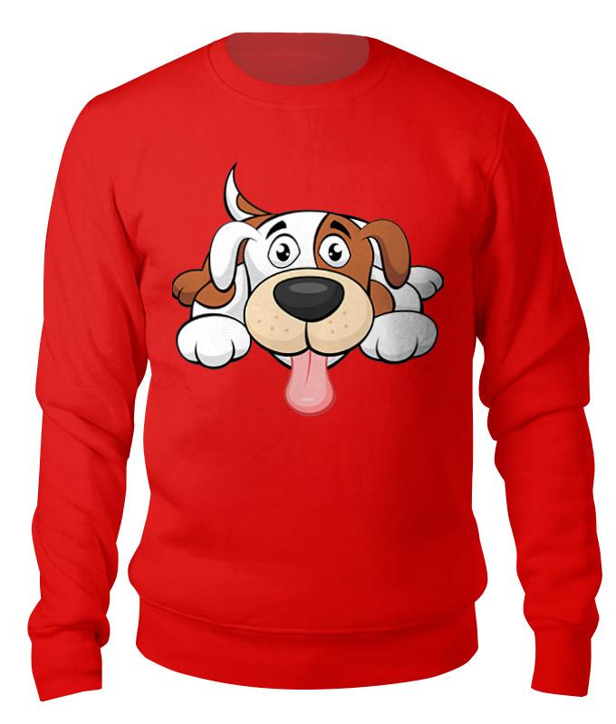 Свитшот унисекс хлопковый Printio Собака canali красный хлопковый джемпер