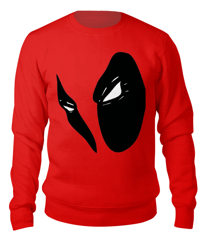 Свитшот унисекс хлопковый Printio Deadpool design свитшот print bar deadpool