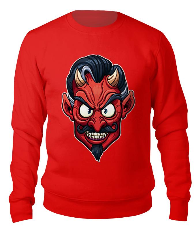Свитшот унисекс хлопковый Printio Devil mask punk style devil skull pendant necklace