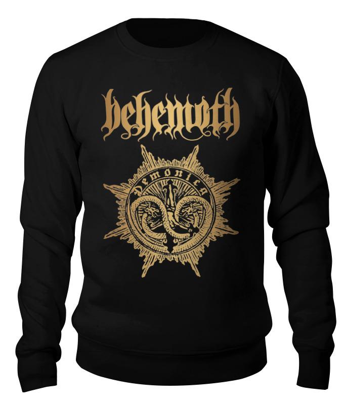 Свитшот унисекс хлопковый Printio Behemoth behemoth villeurbanne