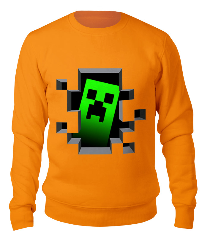 Свитшот унисекс хлопковый Printio Minecraft свитшот унисекс хлопковый printio halloween pumpkin