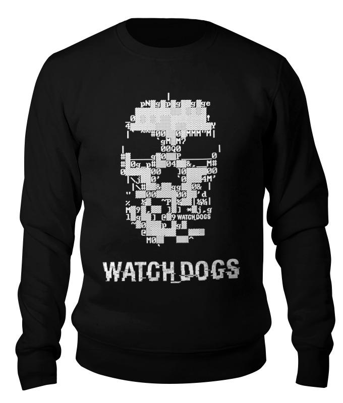 Свитшот унисекс хлопковый Printio Watch dogs 2 sleeping dogs
