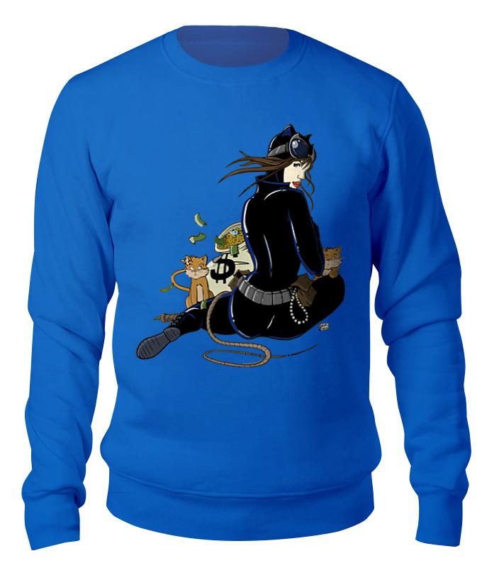 Printio Женщина-кошка свитшот унисекс хлопковый printio бэтмен и женщина кошка