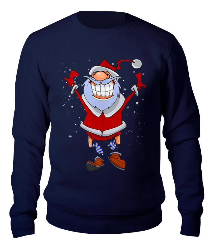 купить Свитшот унисекс хлопковый Printio Санта клаус по цене 2490 рублей