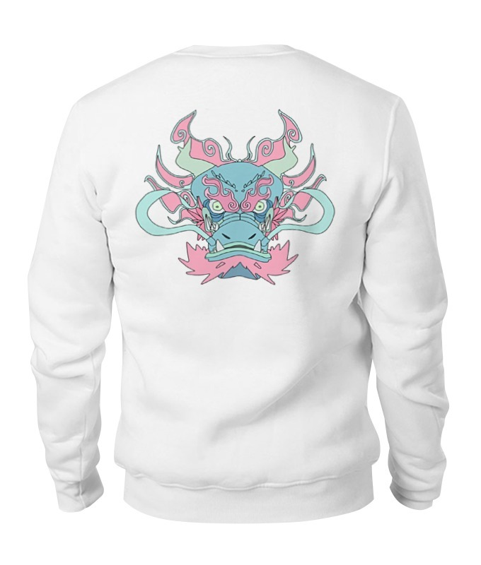 Printio Mint dragon sweatshirt