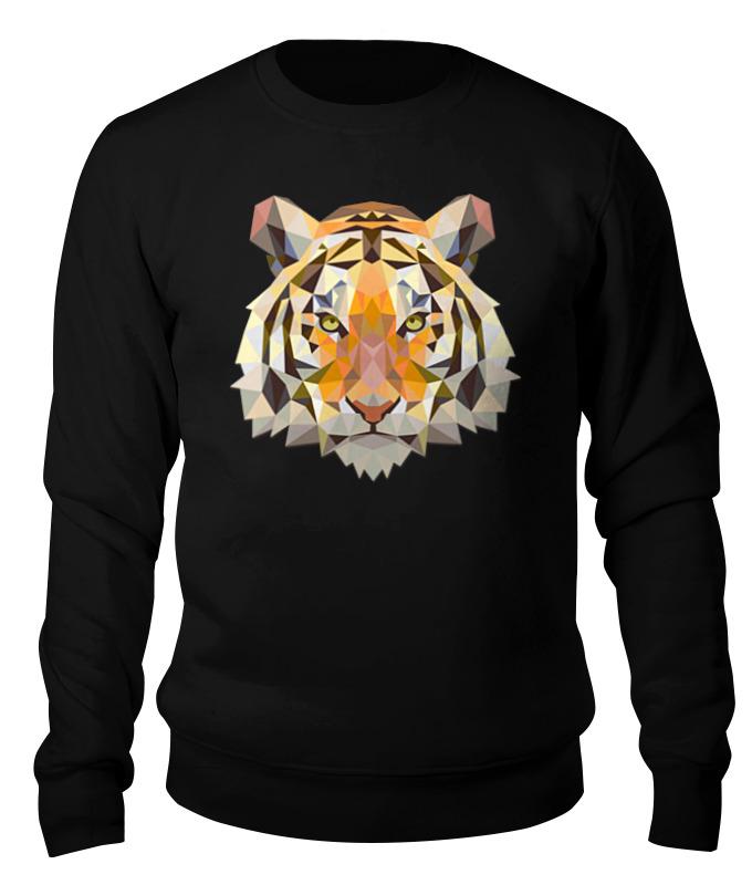 Свитшот унисекс хлопковый Printio Тигр