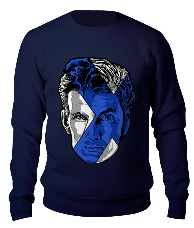 Свитшот унисекс хлопковый Printio Доктор кто ( doctor who) футболка рингер printio доктор кто doctor who