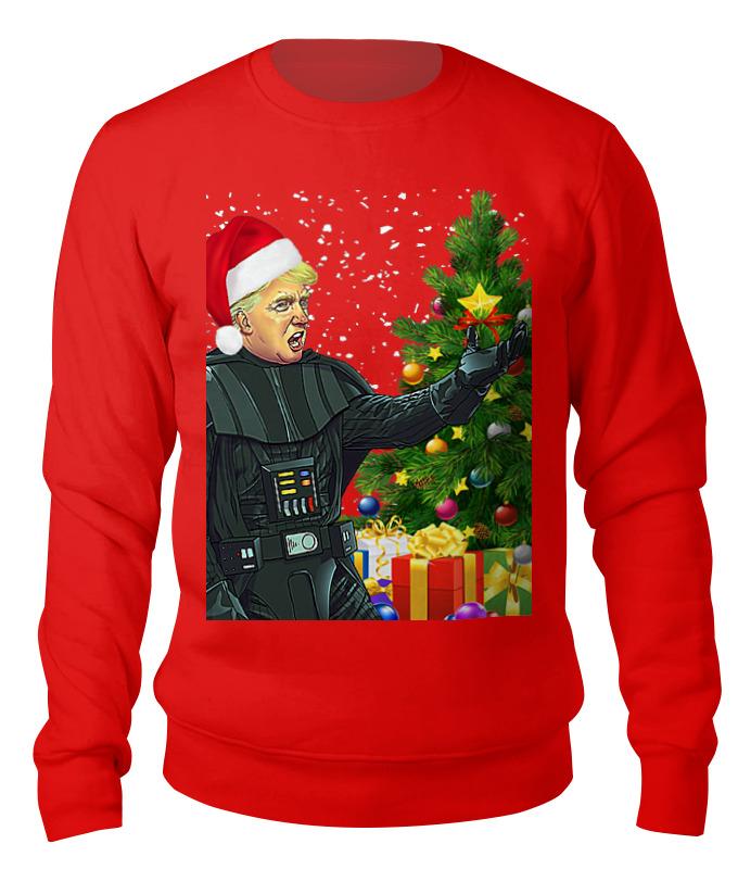 Свитшот унисекс хлопковый Printio Bad santa (trump) свитшот унисекс хлопковый printio bad santa merry christmas