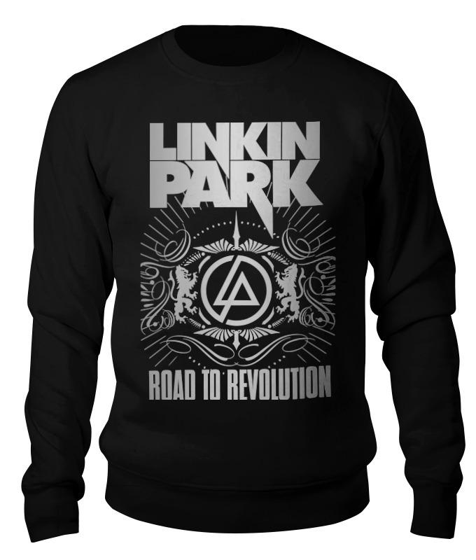 Свитшот унисекс хлопковый Printio Linkin park свитшот унисекс хлопковый printio спиннер