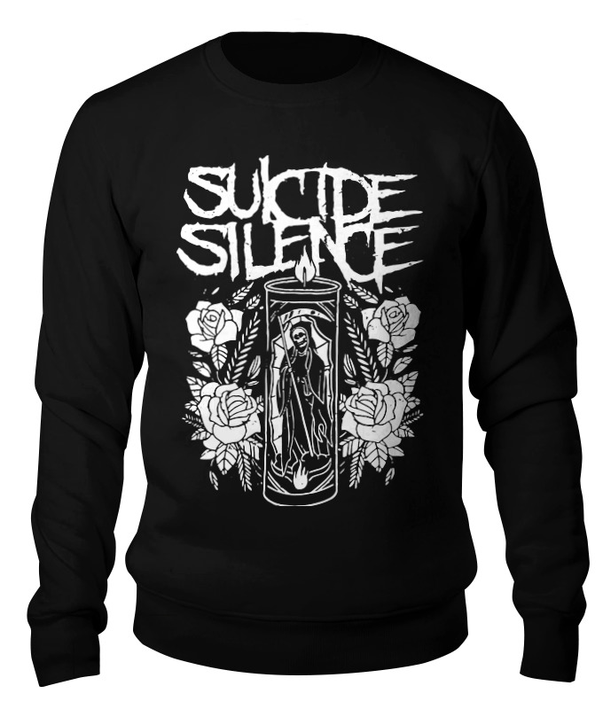 Свитшот унисекс хлопковый Printio Suicide silence deep silence