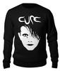 "Свитшот унисекс хлопковый ""The Cure"" - музыка, группы, the cure, cure, готик рок"