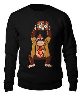 """Свитшот унисекс хлопковый """"Donkey Kong (Nintendo)"""" - донки конг, donkey kong, nintendo"""