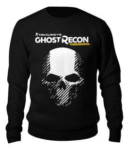 """Свитшот унисекс хлопковый """"Tom Clancy's Ghost Recon Wildlands"""" - игры, для геймеров, ghost recon, tom clancys ghost recon wildlands, tom clancy"""