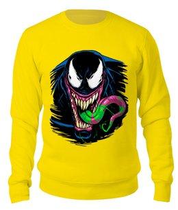 """Свитшот унисекс хлопковый """"Веном"""" - venom, spider man, человек паук, веном"""