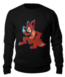 """Свитшот унисекс хлопковый """"Пять ночей у Фредди ( Foxy)"""" - пять ночей у фредди, foxy, фокси, фнаф, fnaf"""