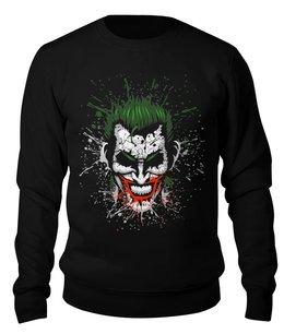 """Свитшот унисекс хлопковый """"Джокер"""" - джокер, joker"""