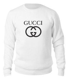 "Свитшот унисекс хлопковый ""GUCCI"" - gucci, гуччи, оригинал гуччи, original gucci, gucci gang"