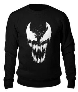 """Свитшот унисекс хлопковый """"Venom"""" - мужу, веном, симбиот, киноманам, любителям комиксов"""