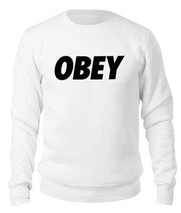 """Свитшот унисекс хлопковый """"OBEY """" - мода, бренд, тренд, obey, обей"""