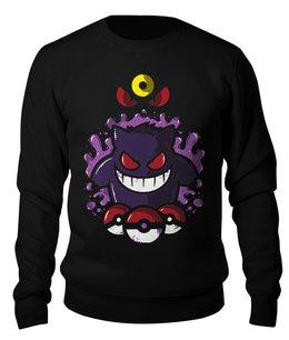 """Свитшот унисекс хлопковый """"Покемон (pokemon)"""" - аниме, pokemon, покемон, покемоны"""