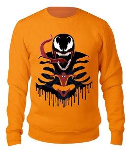 """Свитшот унисекс хлопковый """"Веном"""" - venom, spider man, человек паук, марвел, веном"""