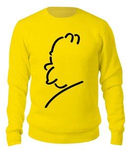 "Свитшот унисекс хлопковый ""Гомер Симпсон"" - the simpsons, симпсоны, гомер симпсон"