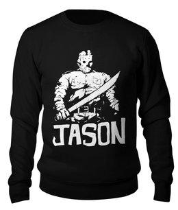 """Свитшот унисекс хлопковый """"Джейсон Вурхиз"""" - jason, пятница 13-е, джейсон, джейсон вурхиз"""