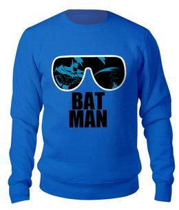 """Свитшот унисекс хлопковый """"Бэтмен (Batman)"""" - batman, бэтман"""