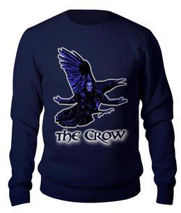 """Свитшот унисекс хлопковый """"The Crow"""" - мистика, ворон, превращение, фантастика"""