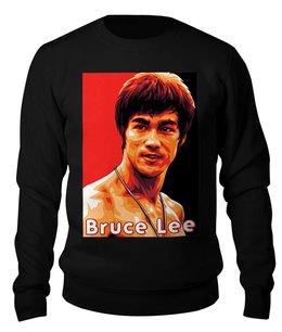 """Свитшот унисекс хлопковый """"Брюс Ли"""" - bruce lee, брюс ли"""