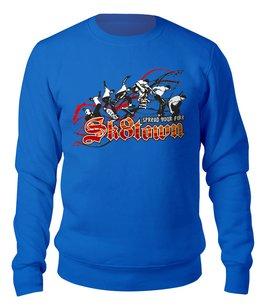 "Свитшот унисекс хлопковый ""Skateboarding"" - скейтборд, молодежный, хобби, сыну, спортсменам"
