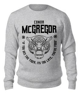 """Свитшот унисекс хлопковый """"Конор Макгрегор"""" - ufc, мма, конор макгрегор, conor mcgregor, the notorious"""