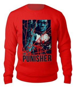 """Свитшот унисекс хлопковый """"The Punisher"""" - мужу, мужчине, каратель, киноманам, любителям комиксов"""