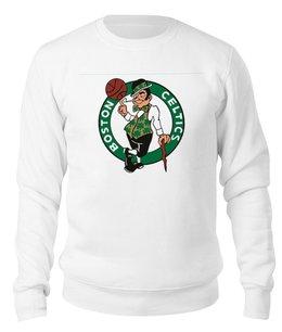 """Свитшот унисекс хлопковый """"Бостон Селтикс"""" - баскетбол, nba, boston, celtics, нба"""