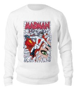"Свитшот унисекс хлопковый ""Madman"" - madman"