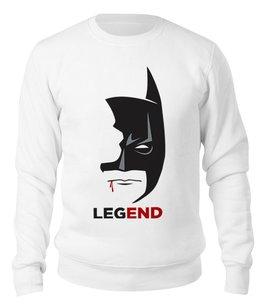 """Свитшот унисекс хлопковый """"Бэтмен (Batman)"""" - batman, бэтмен"""